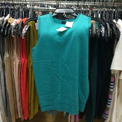 Cashmere shell, $65