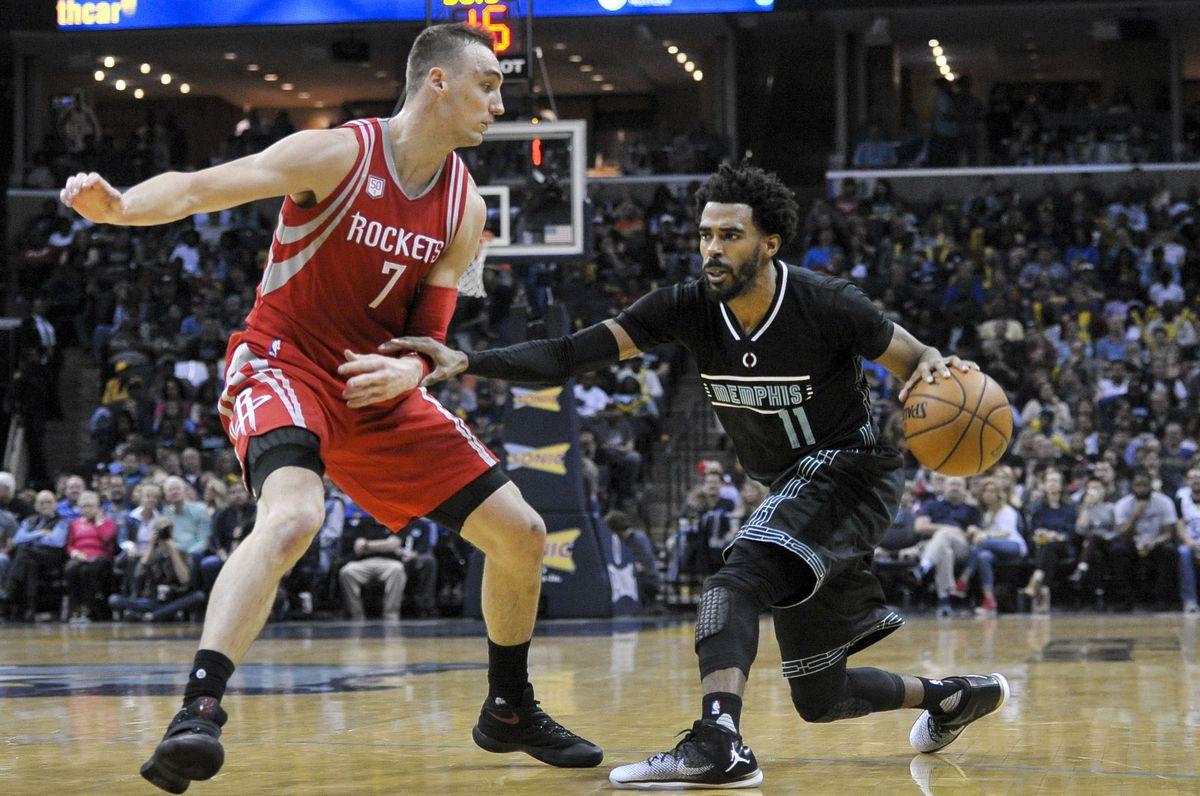 NBA: Houston Rockets at Memphis Grizzlies