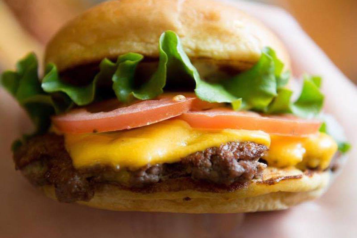 Shake Shack's burger