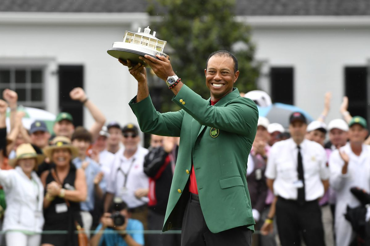 tiger woods major championships  wins at masters  us open