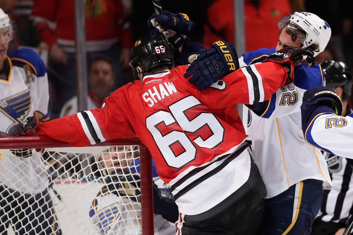 The Blues and Blackhawks headline night two of the 2014 Stanley Cup Playoffs.