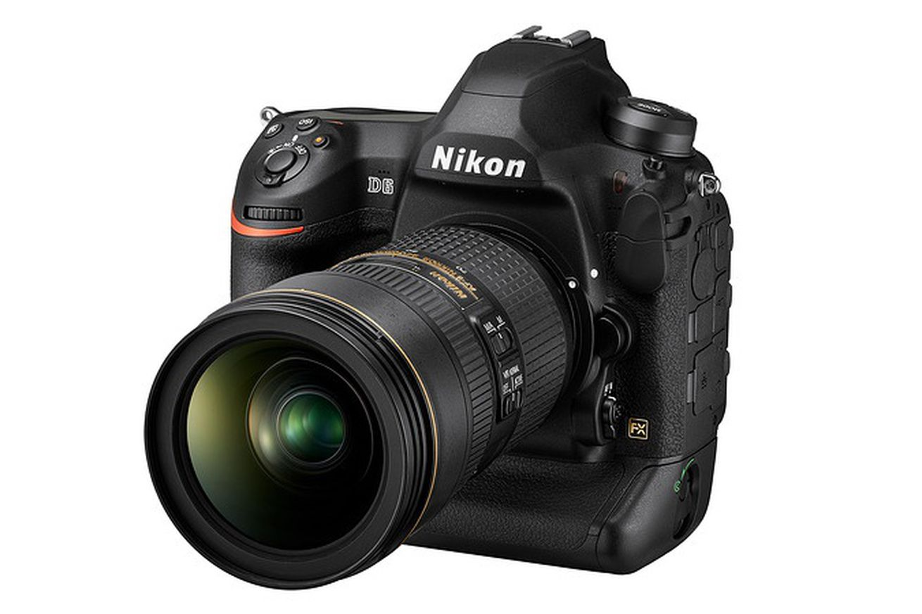 Nikon's D6 pro camera is coming in April for $6,500