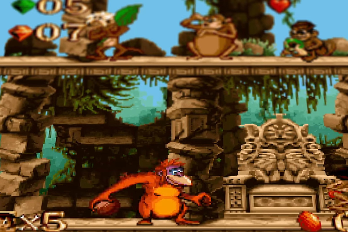 The Jungle Book in the Disney Classic Games Collection