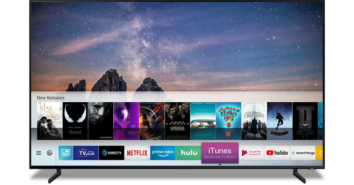 Apple is Putting iTunes on Samsung TVs