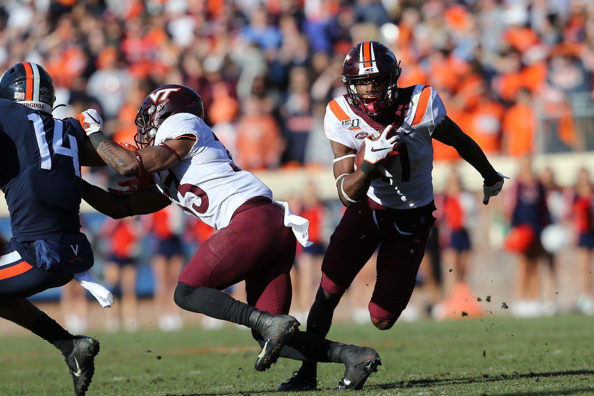 COLLEGE FOOTBALL: NOV 29 Virginia Tech at Virginia