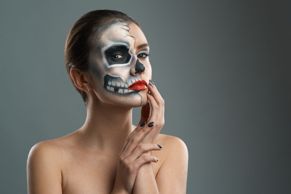 dmytro vietrovshutterstock - Where Can I Get Halloween Makeup Done