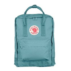 """<b>Fjallraven</b> Kånken Backpack, <a href=""""http://www.fjallraven.us/collections/kanken-1/products/kanken"""">$75</a>"""