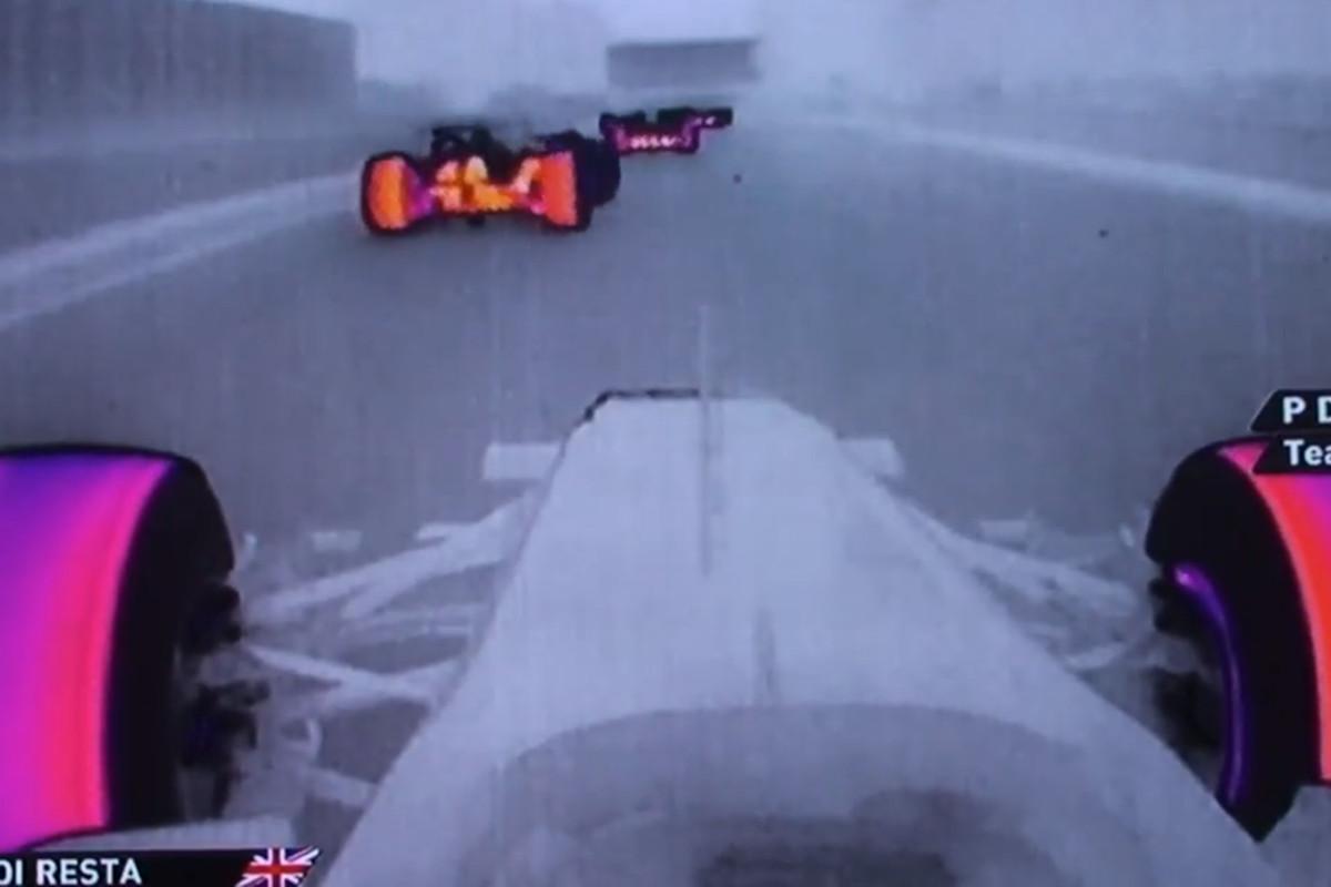 F1 thermal imaging
