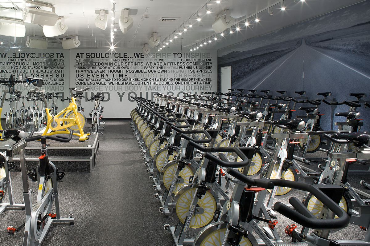 """SoulCycle's new SOUL101 classes will prepare you to own this room. Image via <a href=""""https://www.soul-cycle.com"""">SoulCycle</a>."""
