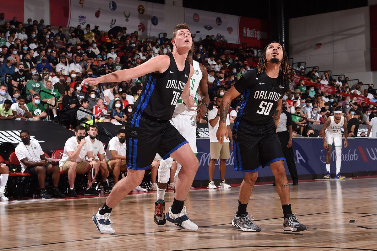 2021 Las Vegas Summer League - Orlando Magic v Boston Celtics