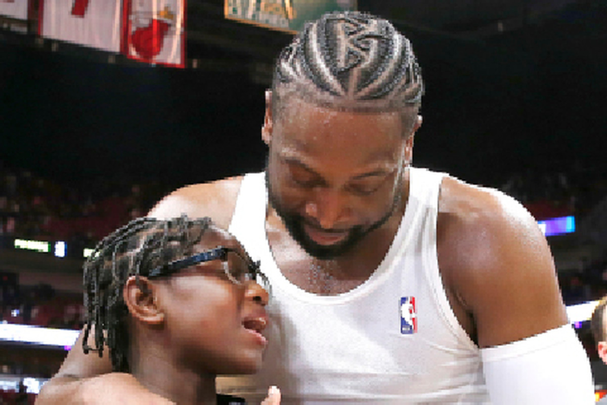 Dwyane Wade (shown after his final NBA game in April) revealed Tuesday that daughter Zaya has come out as transgender.