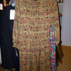 The $50 vintage Nina Ricci pleated dress