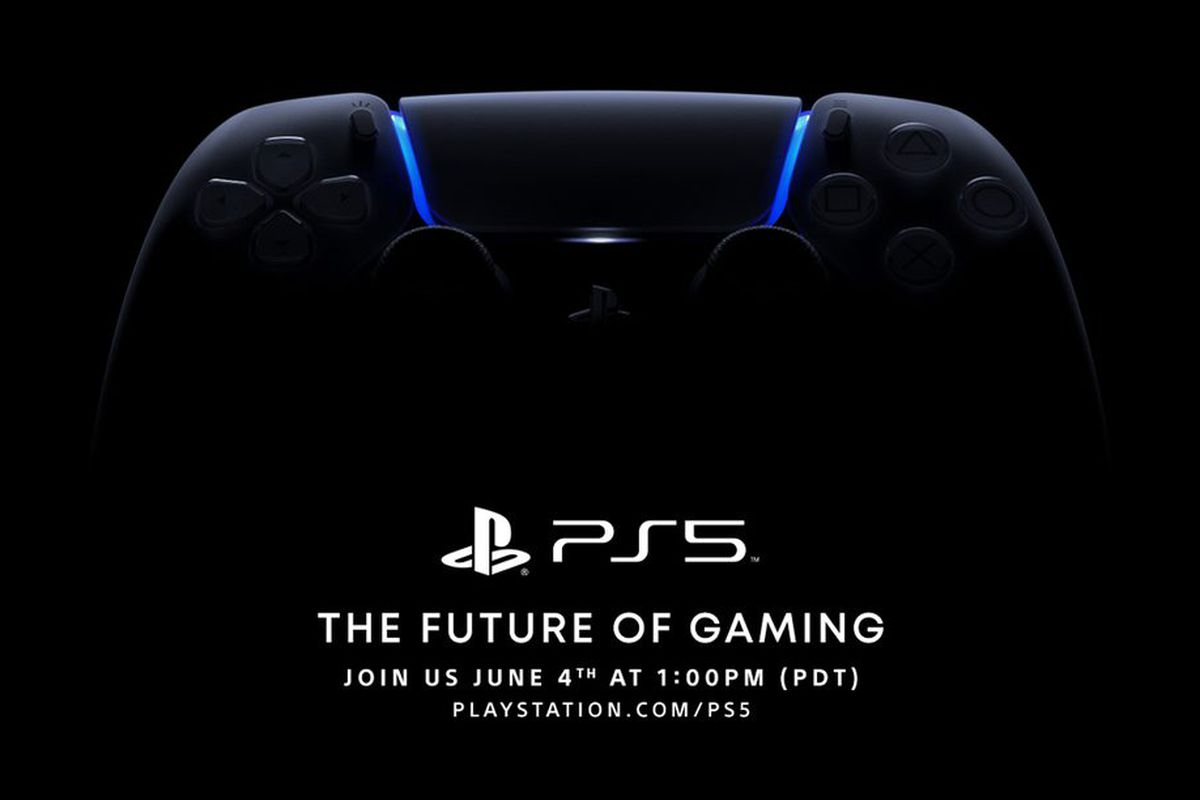 Sony Announces Ps5 Event For June 4th The Verge