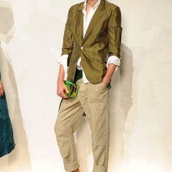 Safari goes suiting at J.Crew. Photo: Getty.