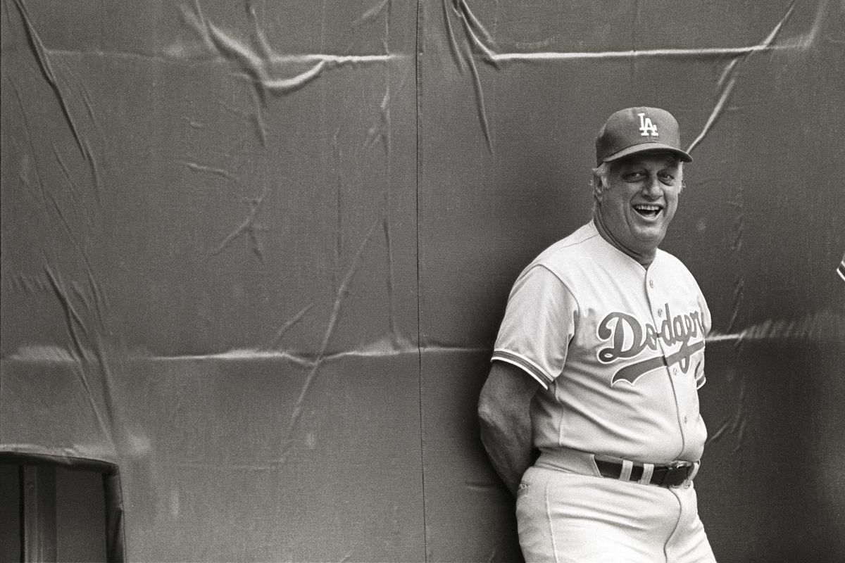 Dodgers Tommy Lasorda