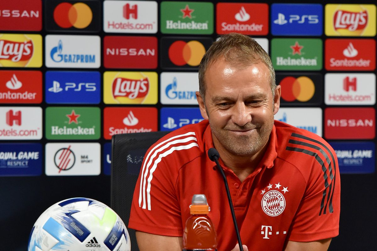 UEFA Super Cup 2020 bayern coach hansi flick