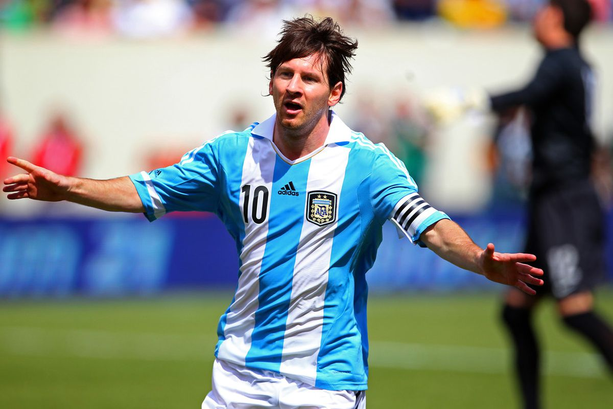 Messi will hope to lead Argentina to World Cup glory