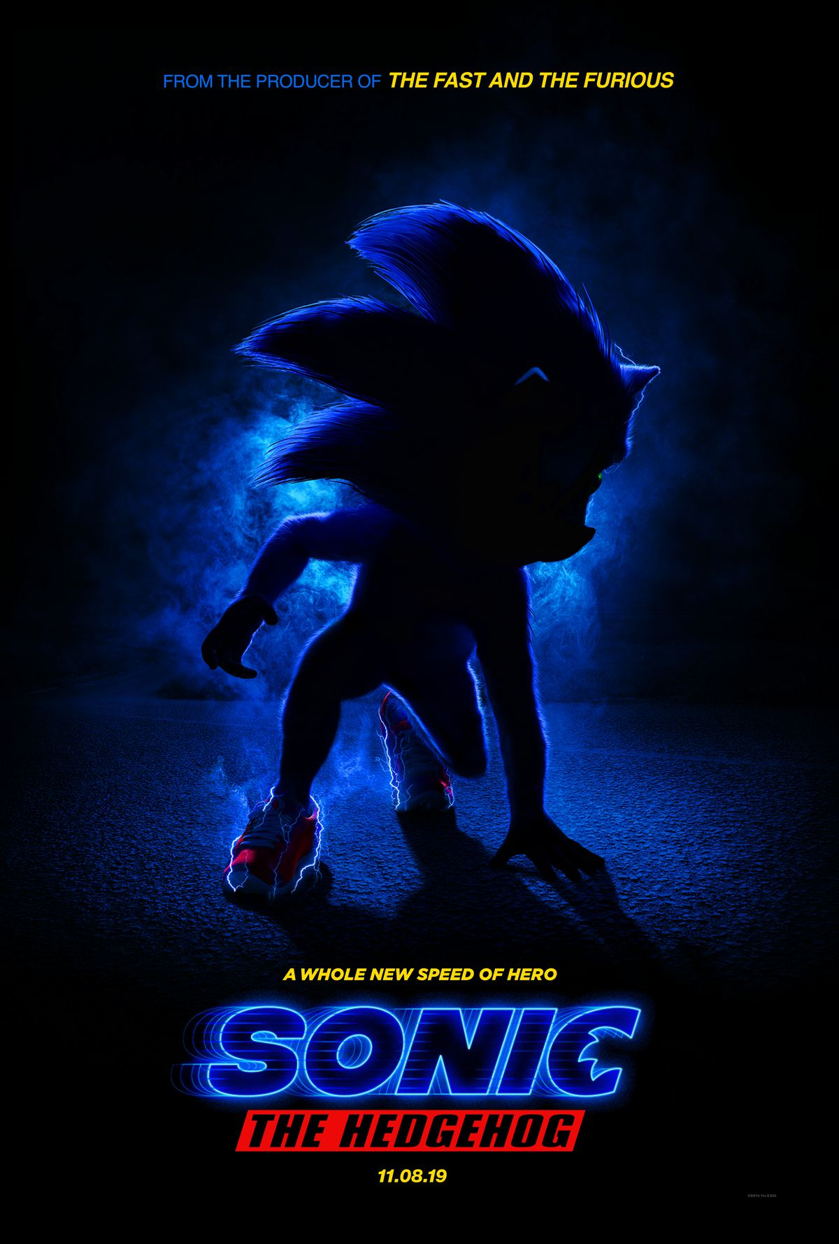 Here S Your First Look At Sonic The Hedgehog S Live Action Version Polygon