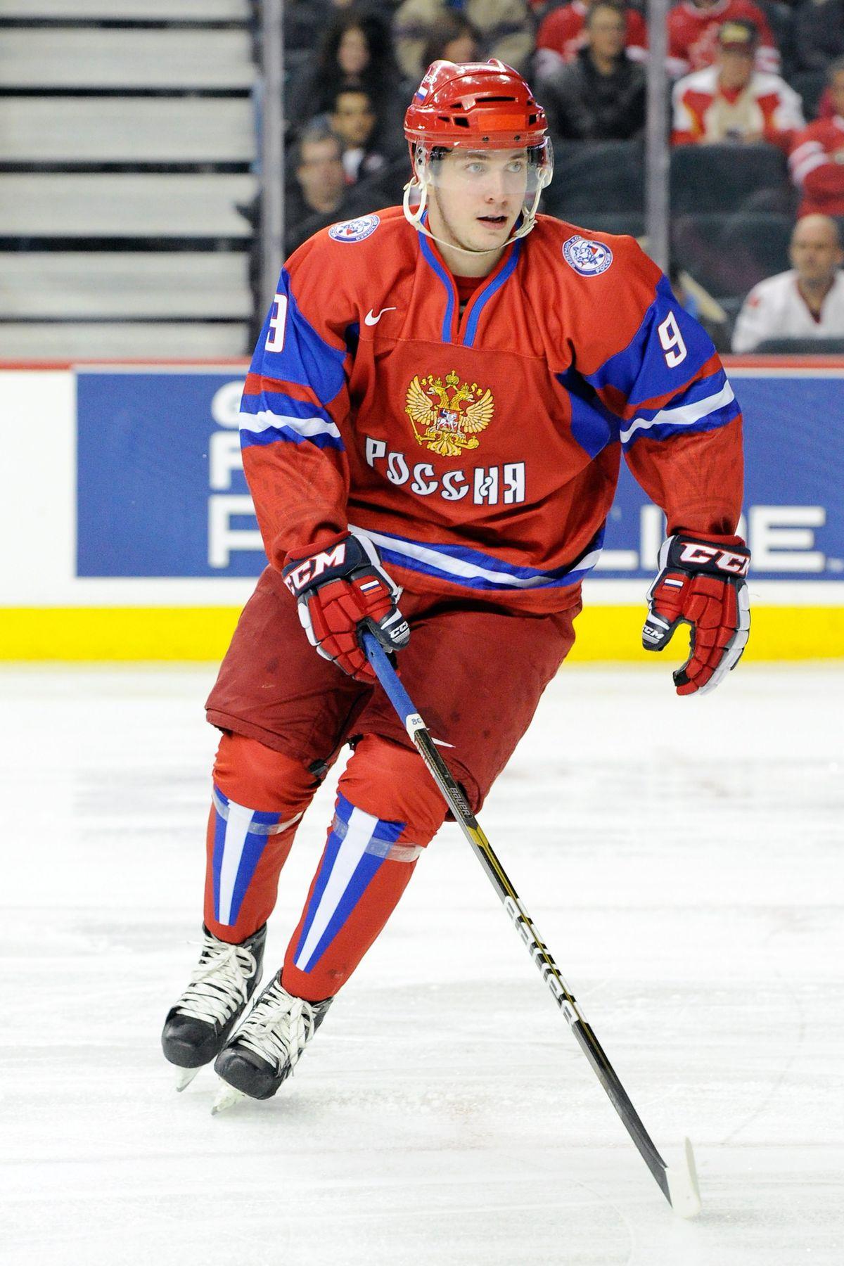 2012 World Junior Hockey Championships - Quarterfinal - Russia v Czech Republic