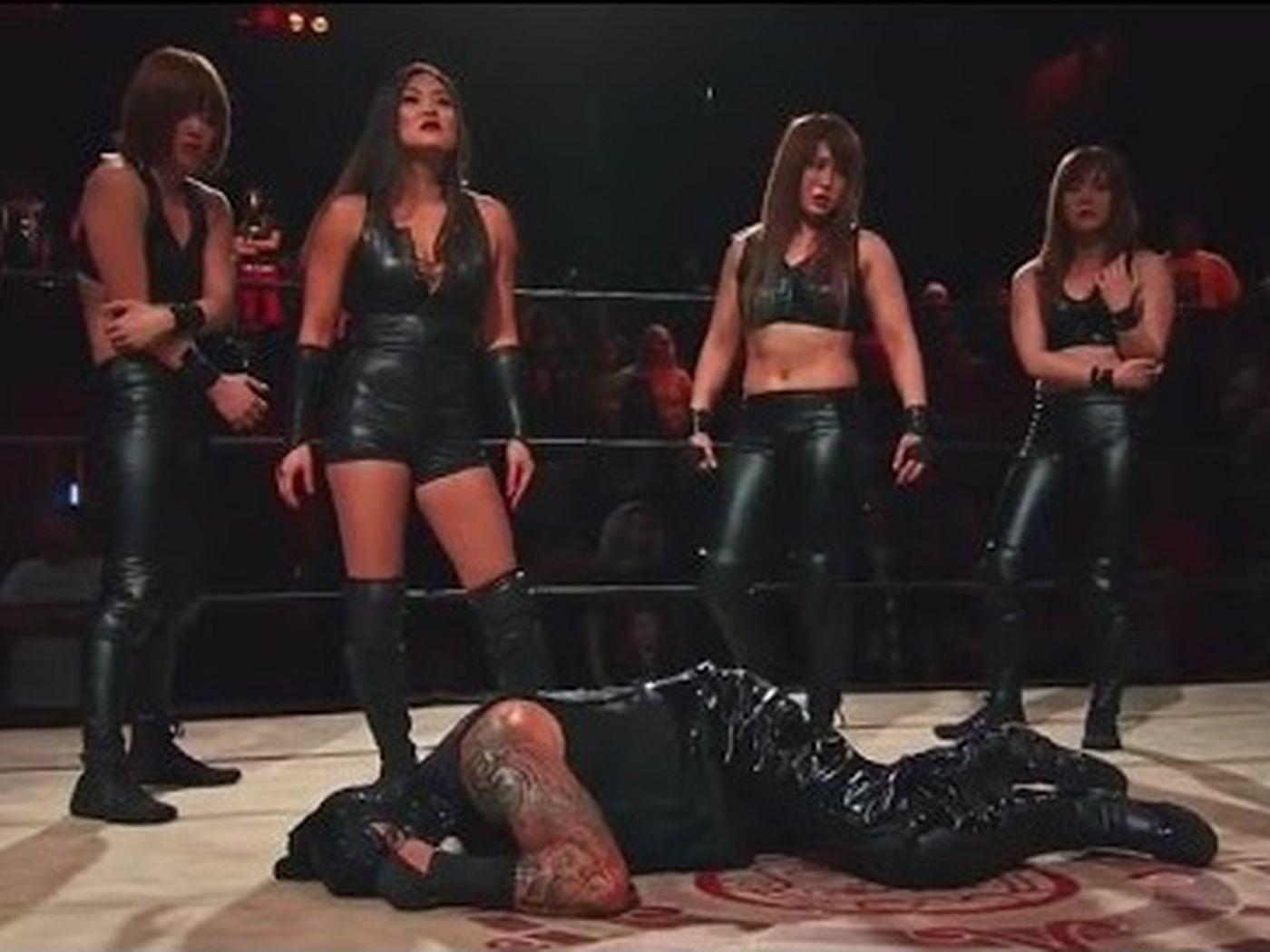 Black Lotus Triad Lucha Underground