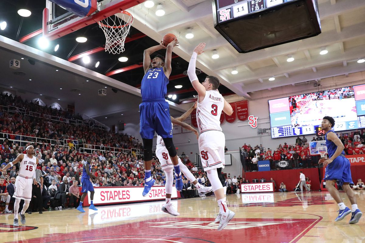 NCAA Basketball: Creighton at St. John