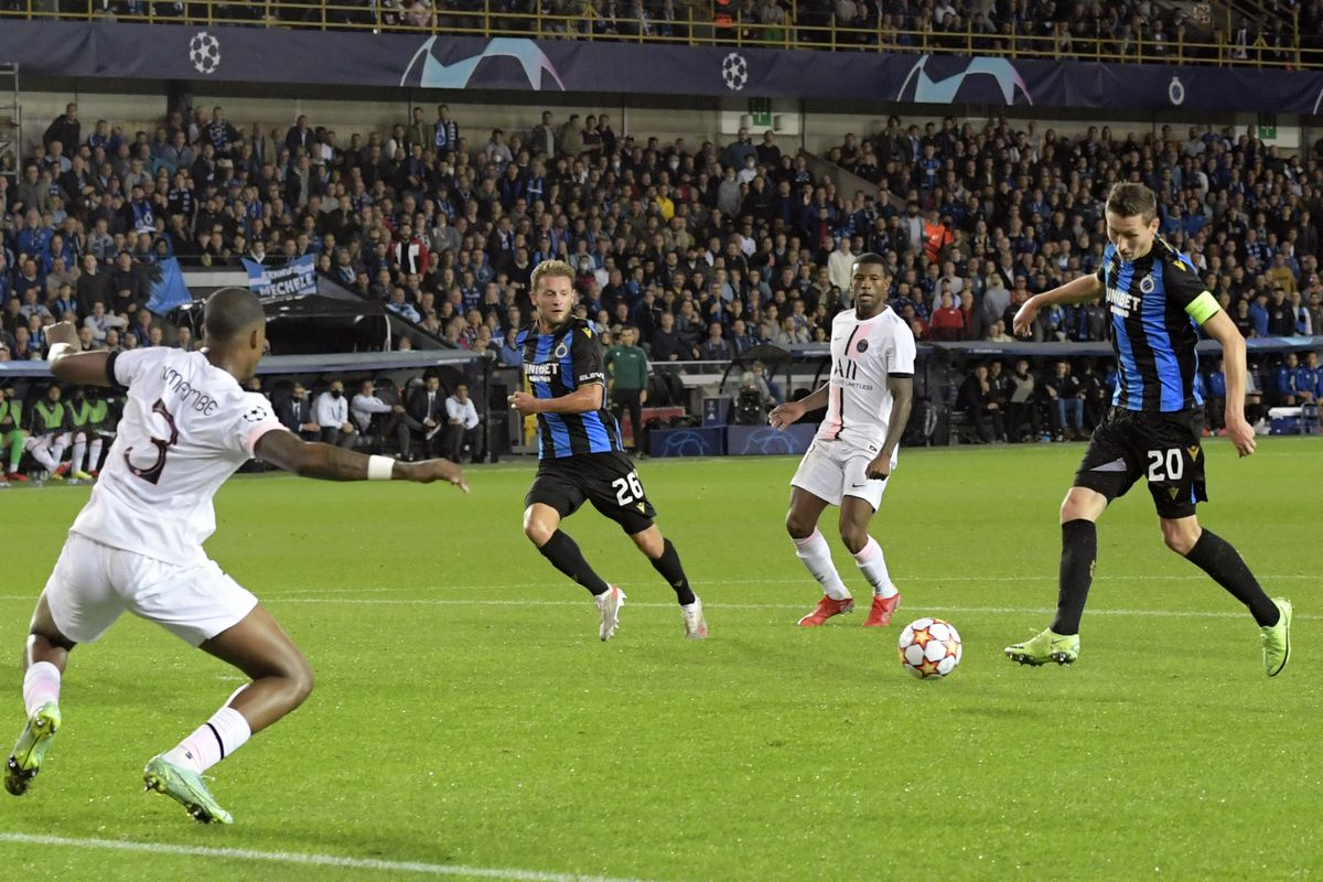 "UEFA Champions League""Club Brugge v Paris Saint-Germain"""