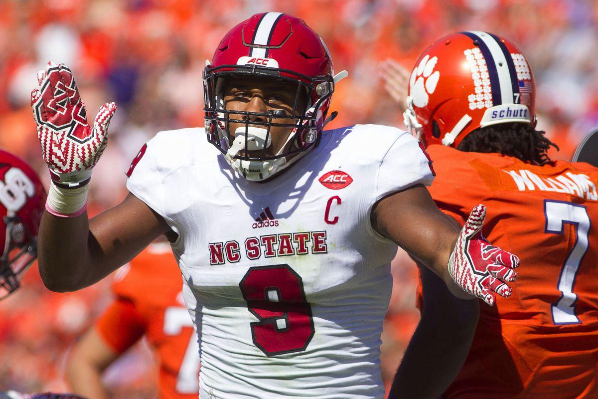 NCAA Football: North Carolina State at Clemson