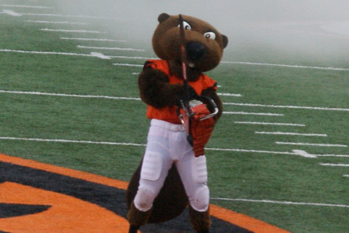 Can Oregon State get the chainsaw fired up for Washington?