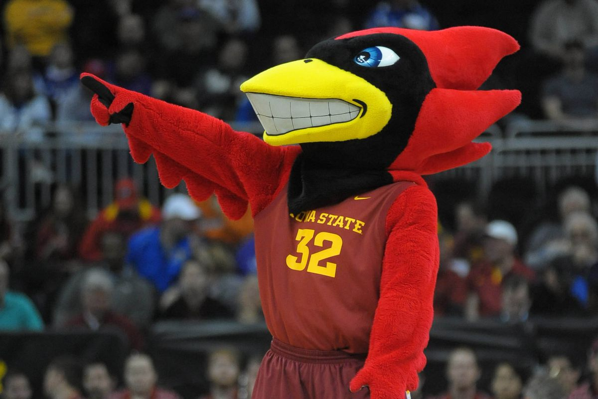 Now taking explanations as to why the Cyclones have a cardinal as a mascot.