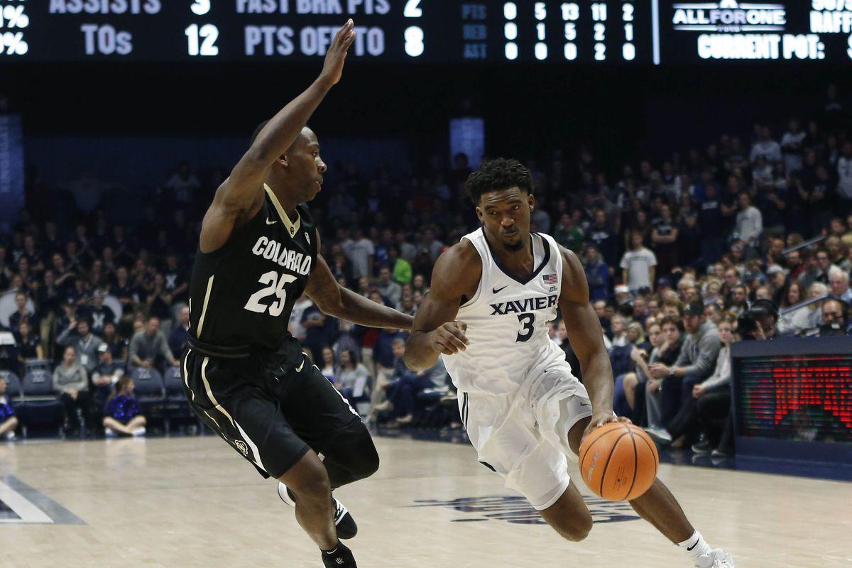 NCAA Basketball: Colorado at Xavier