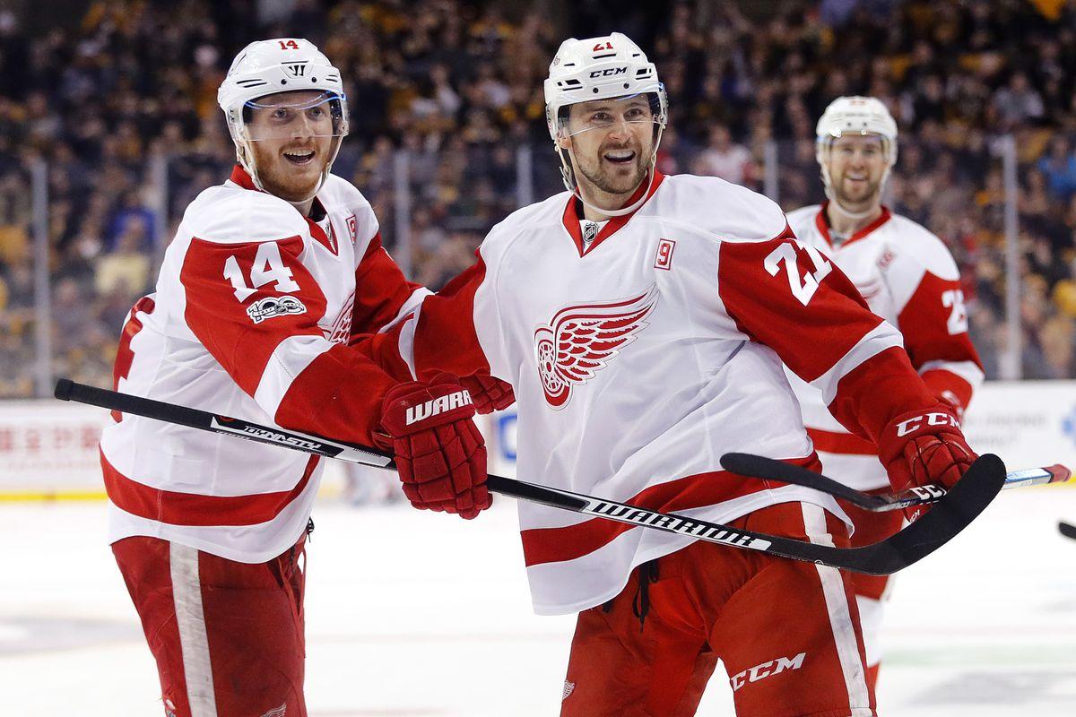 NHL: Detroit Red Wings at Boston Bruins