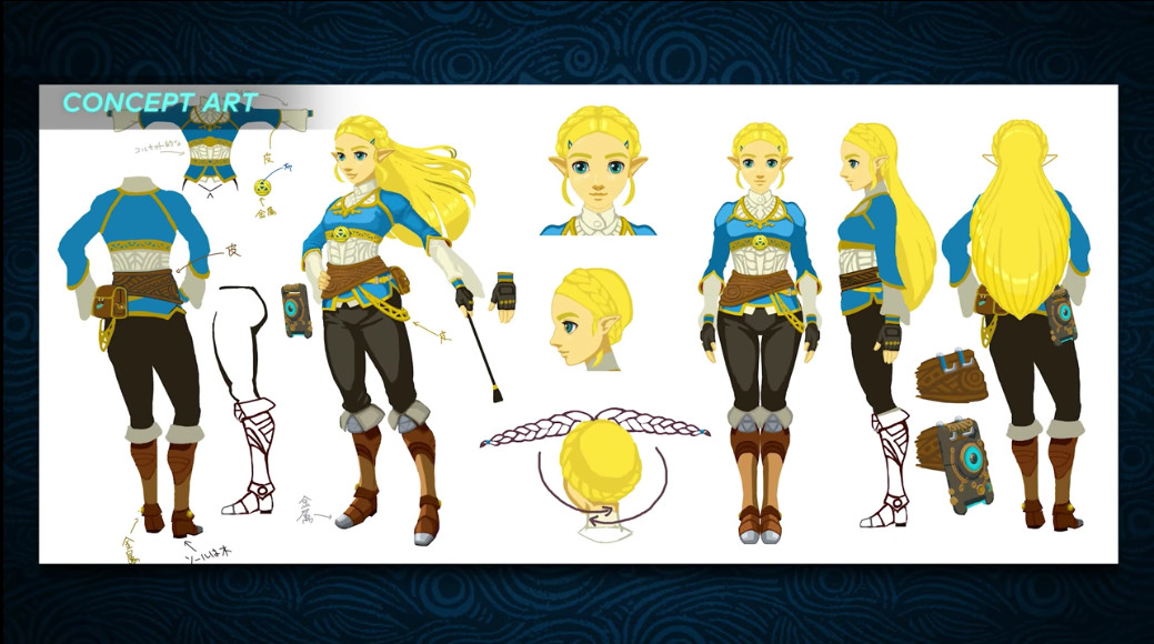 Check Out Breath Of The Wild S Link And Zelda Transition