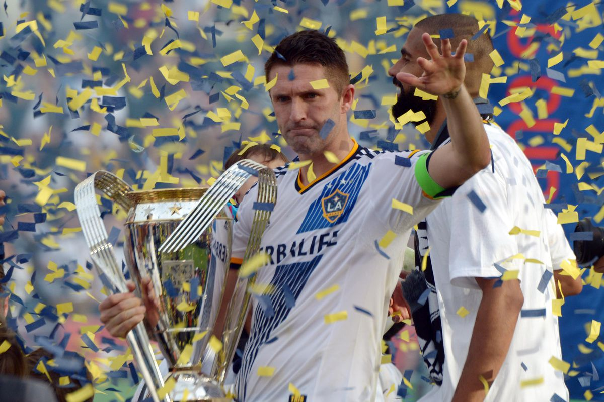 Robbie Keane will be looking at leading his Galaxy squad to back-to-back MLS Cup Championships