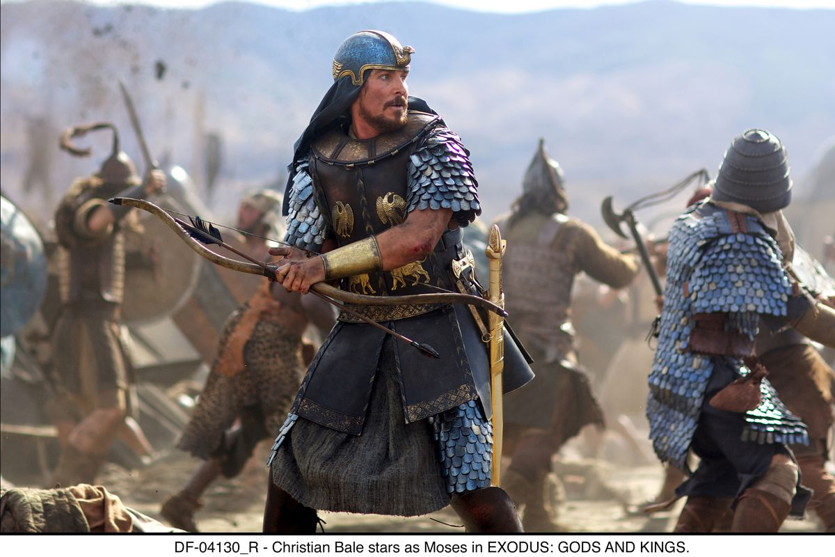 Christian Bale plays a more modern Moses in Exodus: Gods and Kings, Hollywood's latest attempt to revive the Biblical epic.