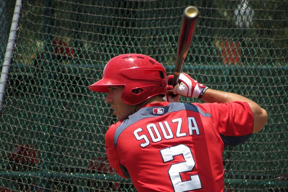 Nationals outfielder Steven Souza.