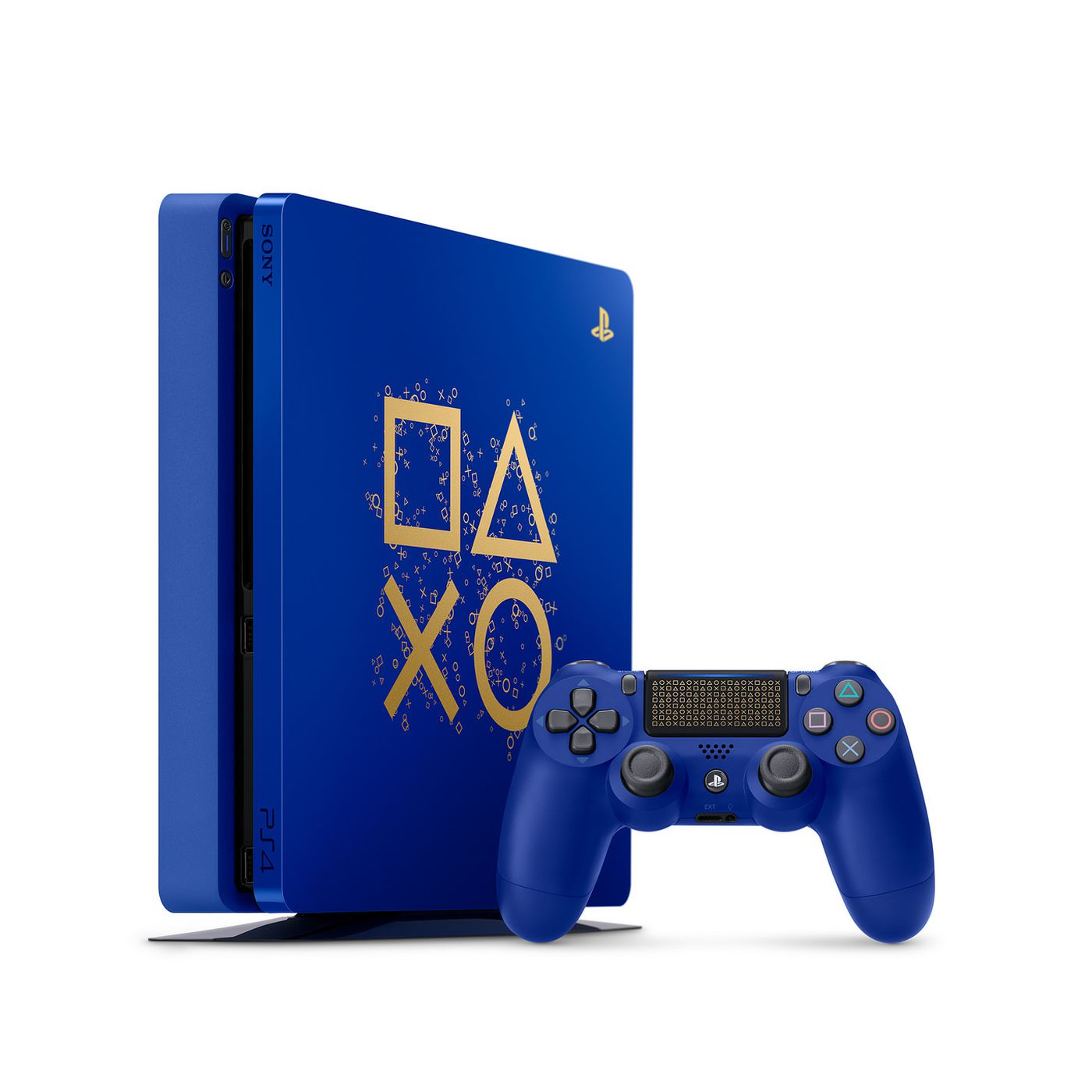 8d96489b611 Sony s annual sale is offering limited edition blue PS4s and tons of game  deals - The Verge