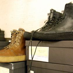 Two pairs of men's boots