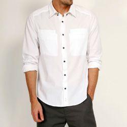 """<b>Rogan</b> Kaleef Shirt, <a href=""""http://www.rogannyc.com/mens/shirts/kaleff-shirt.html"""">$154</a> (was $220)"""