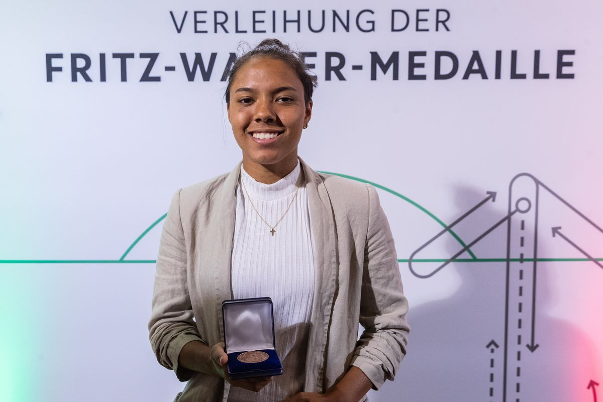 Fritz-Walter-Medaille Awarding Ceremony