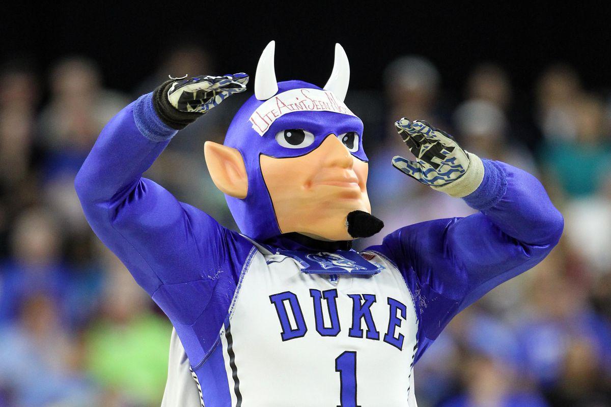 The Duke Blue Devil
