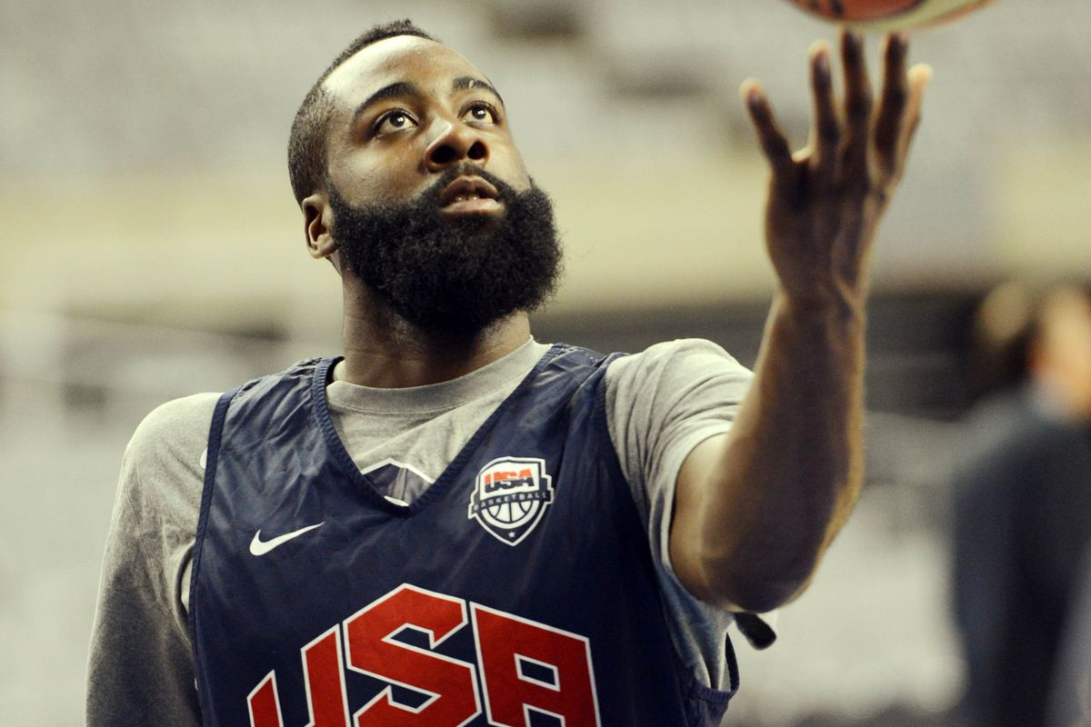 James Harden will get his best shot at highlight reel plays today....