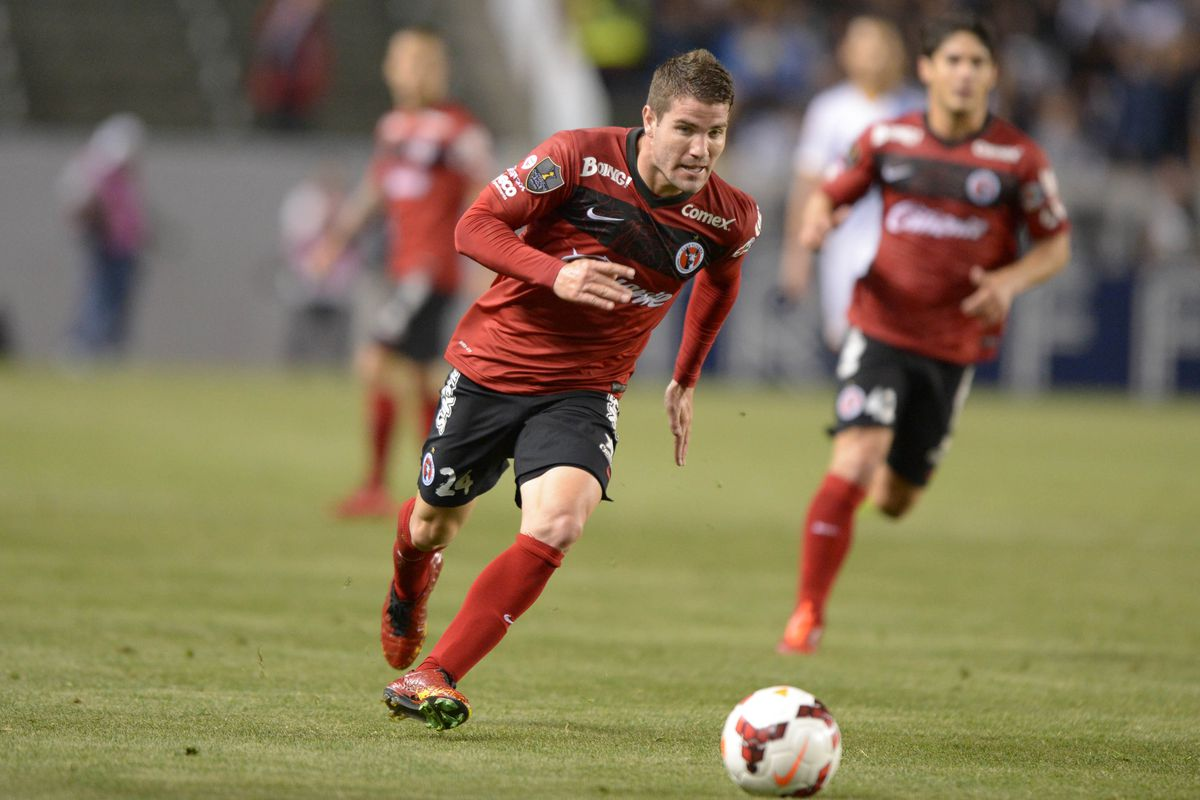 Greg Garza is one of seven Americans playing for Tijuana.