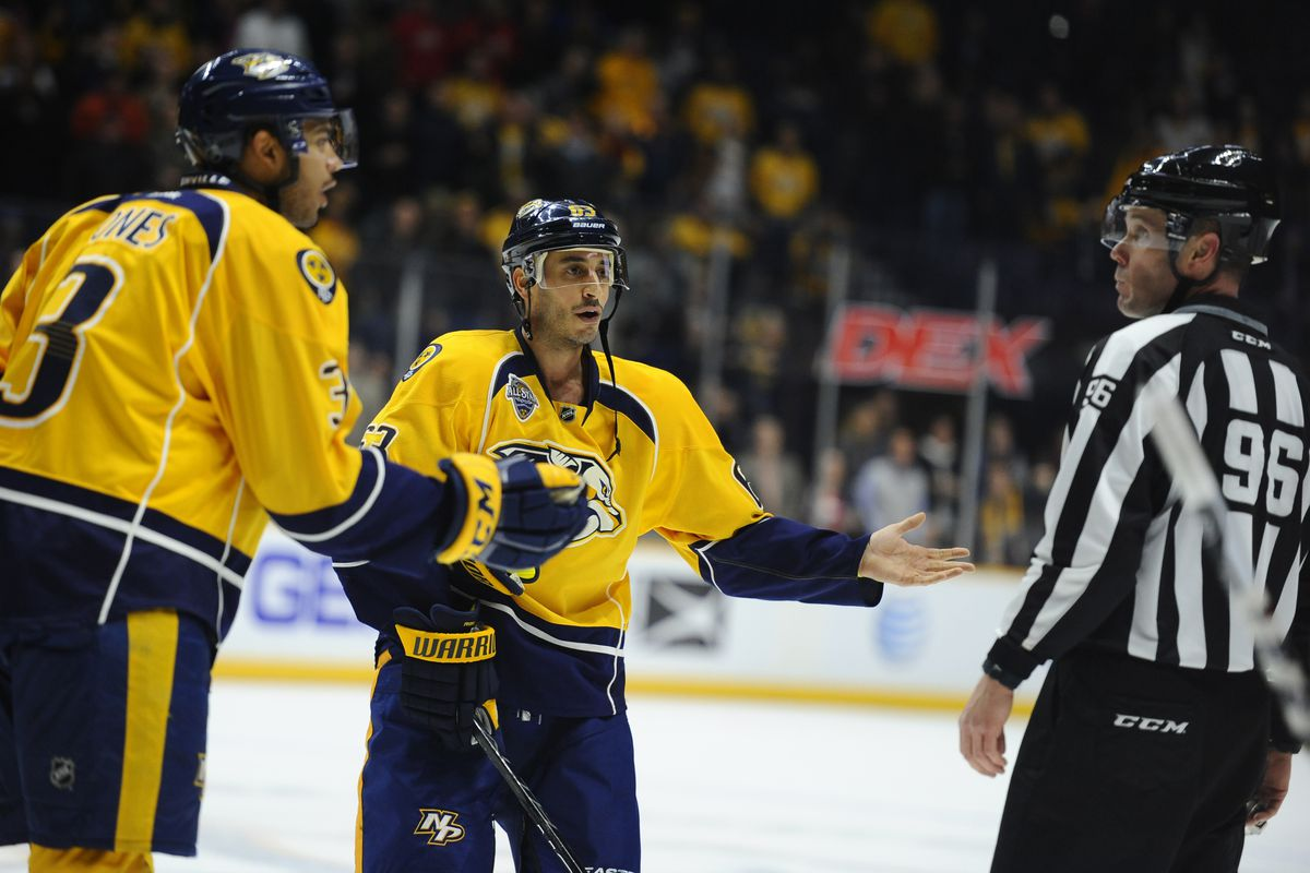 This image sums up exactly what Predators fans were thinking Thursday night