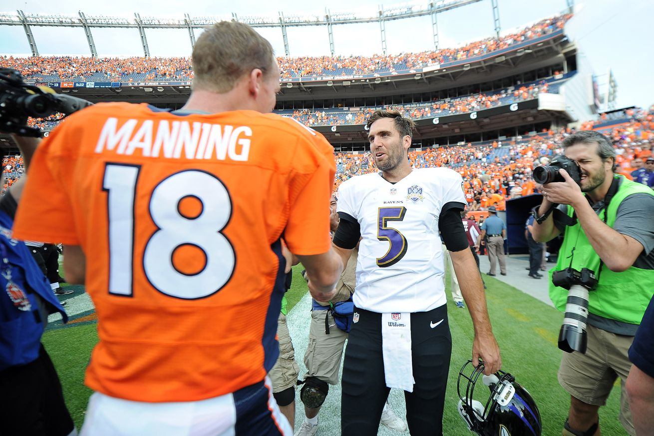 Tale of the Tape: What does Joe Flacco bring to the Broncos?