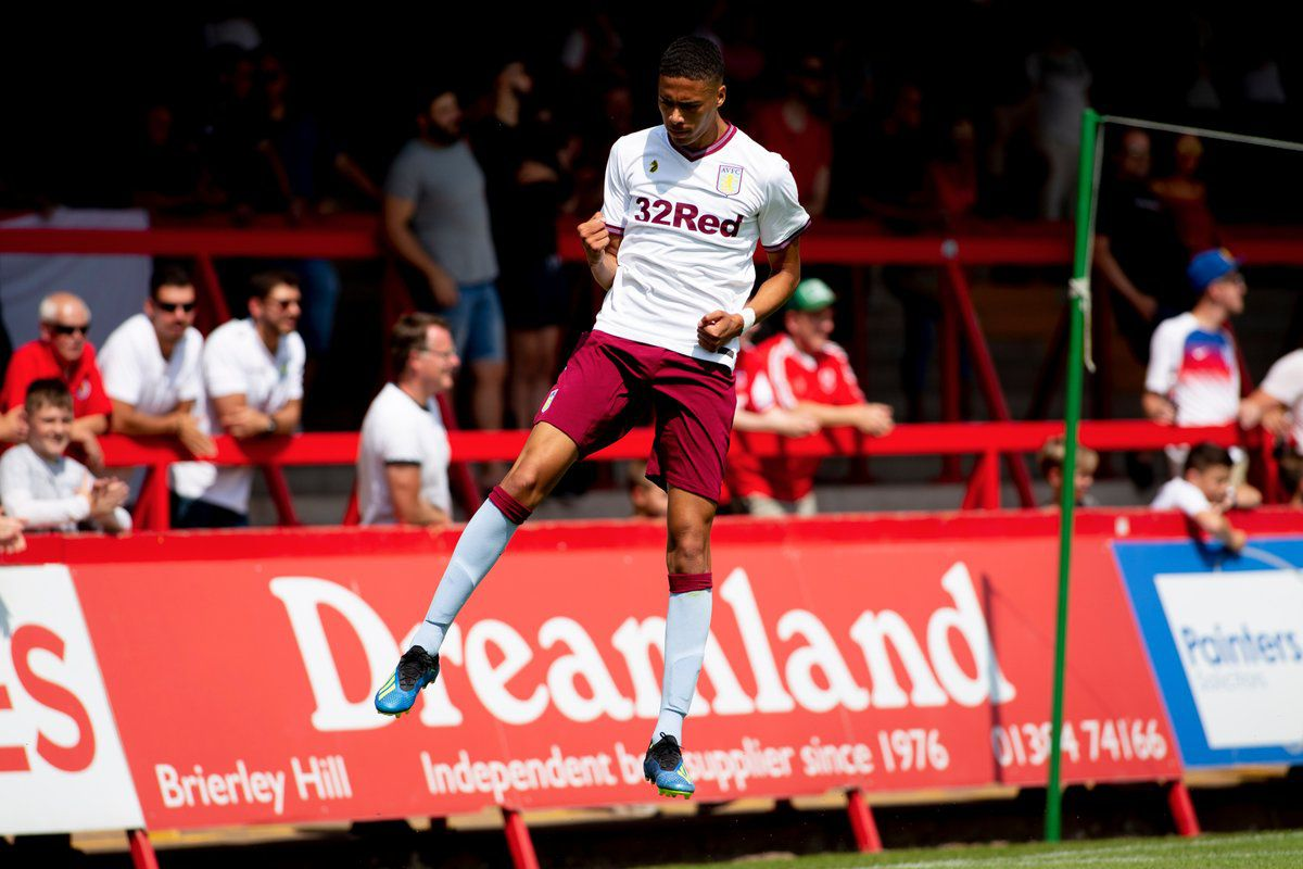 Aston Villa   Kidderminster Harvey Knibbs Scores As Villa Draw To Start Pre Season Aston Villa Fell Behind Within  Minutes But Quickly Recovered As