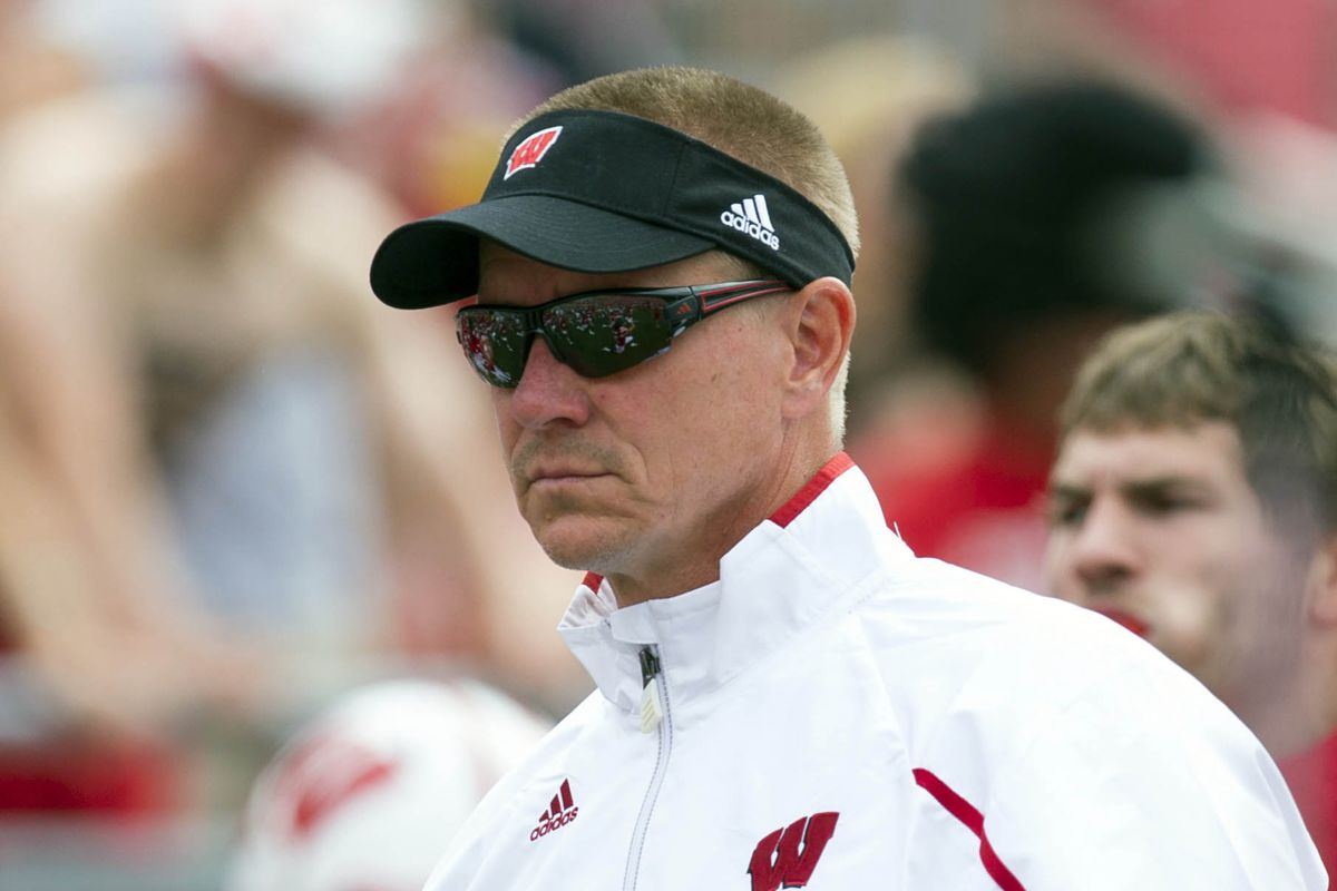 Gary Andersen: Wisconsin head coach, or future Terminator?  You decide.
