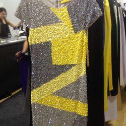 Sequined dress (sample), $59