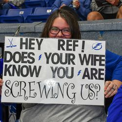 A Syracuse Crunch fan's opinion of the refereeing in the series against the Toronto Marlies during the American Hockey League (AHL) Calder Cup North Division Playoff games.