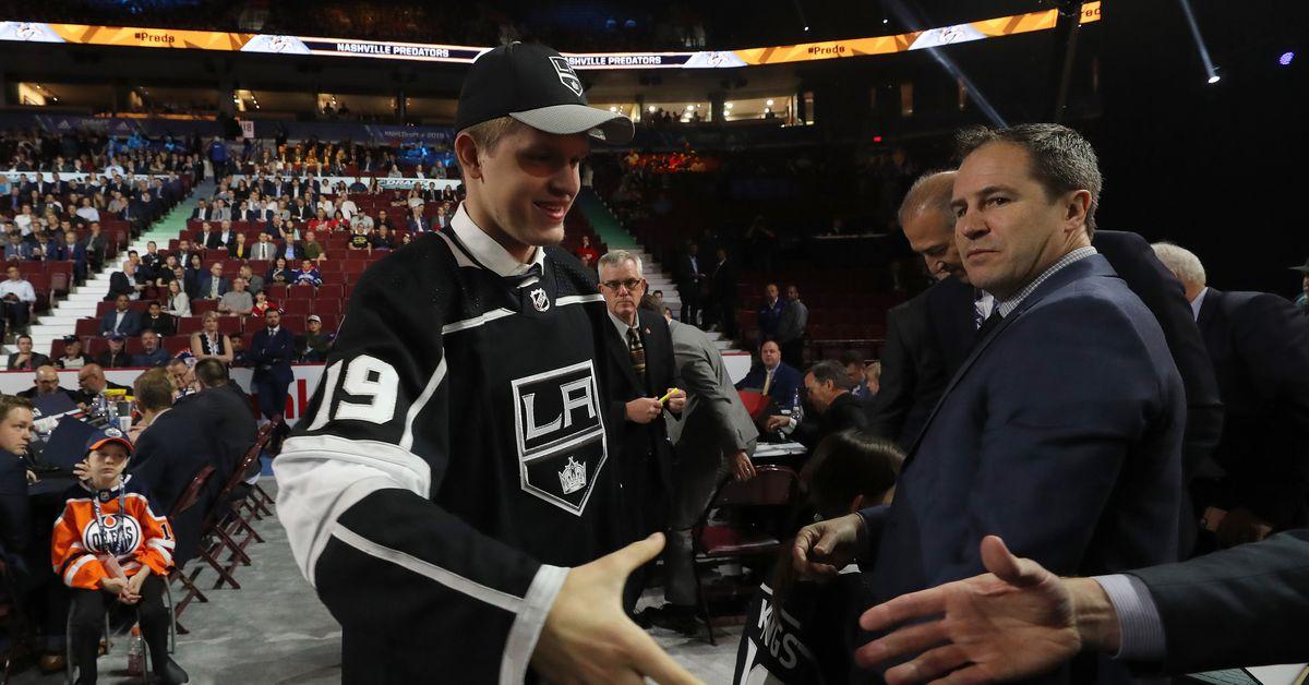 NHL Draft 2019: Los Angeles Kings Select RW Arthur Kaliyev ...