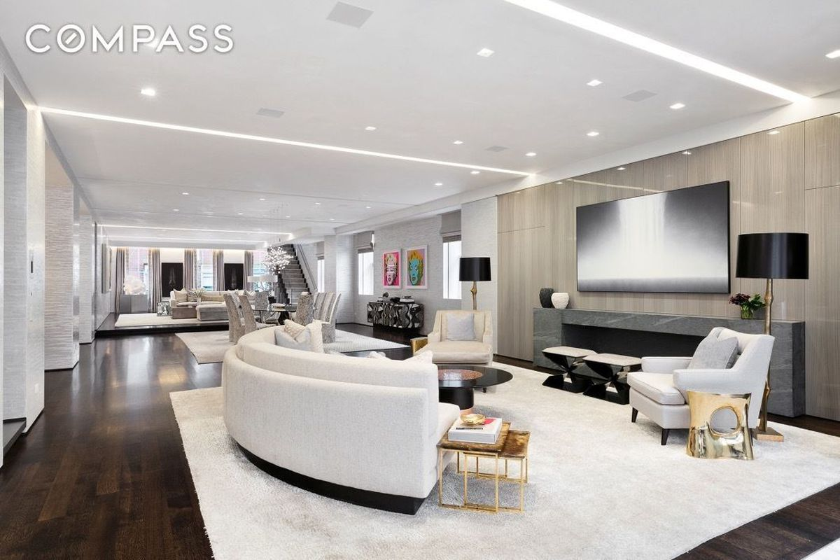 Massive $30M Soho penthouse is a mansion in the sky - Curbed NY